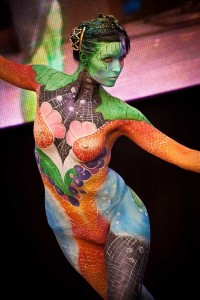 Bodypaint - Colors - Red Star Events - Art based entertainment