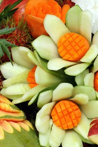 Food Sculptures - Red Star Events - Food Entertainment