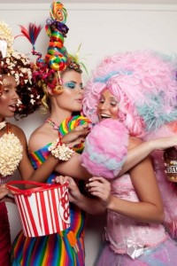 Candy Girls - Popcorn - Red Star Events