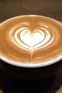 Coffee Art - Heart - Red Star Events