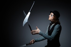 Red Star Events - Juggling - Swords