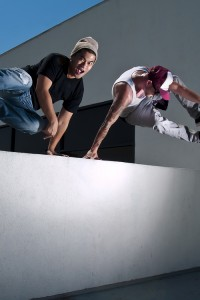 Parkour - Red Star Events - Duo